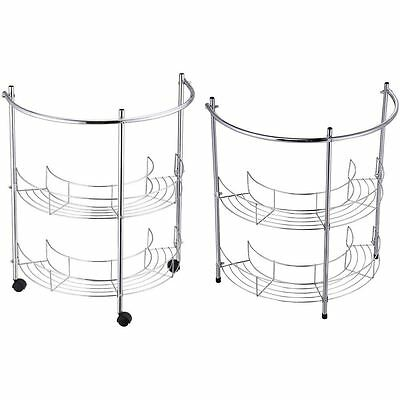Under Basin Rack 2 Tier Bathroom Washbasin Sink Storage Portable Towel Rack Unit