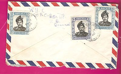 Brunie   1969  Airmail  Cover