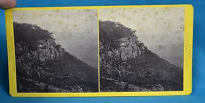 Scarce 1860s Stereoview Photo The Blue Mountains Sydney Australia A Brodie
