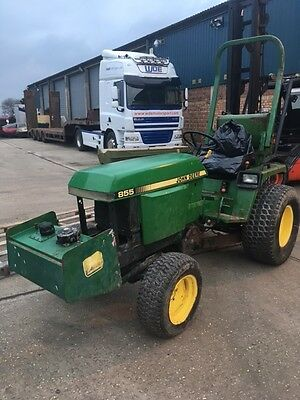 John Deere 855 Compact Tractor Needs Attentions £3,600 included VAT