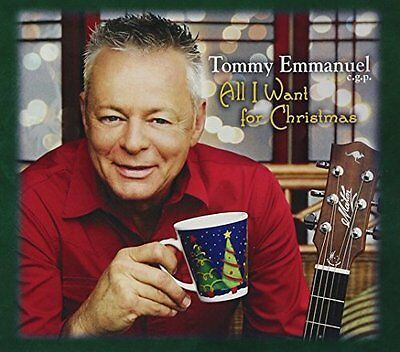 Tommy Emmanuel - All I Want For Christmas [CD]