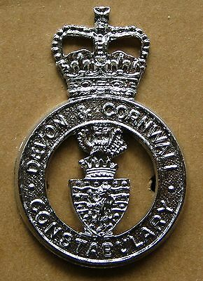 Obsolete Cap Badge - Devon & Cornwall Constabulary
