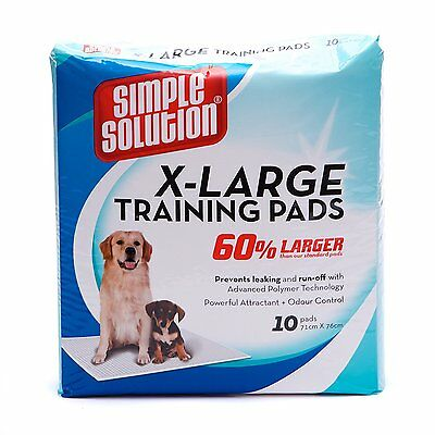 Simple Solution Training Pads, X-Large  010279112670