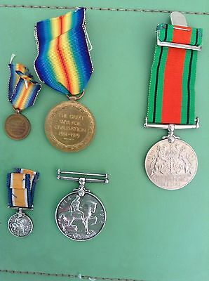 Collection Of War medals