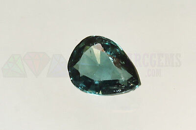 Blue Indicolite Tourmaline Pear 1.66ct Loose Natural Gemstone 9x7mm Afghanistan