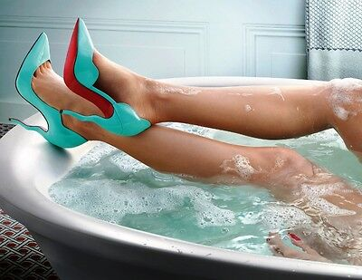 **PHOTOGRAPH 1** OF Christian Louboutin ad campaign - quality glossy A4 print