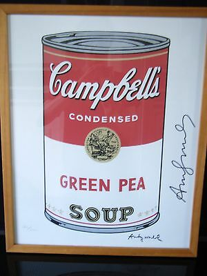 Andy Warhol - Druck (Campbells Suppendose)