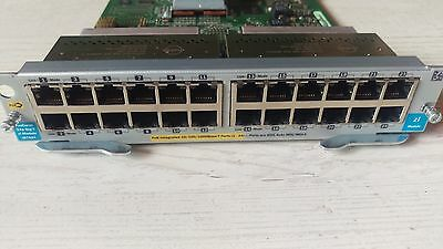 HP ProCurve J8702A 24 port Gigabit 10/100/1000 Mbit PoE Switch Modul