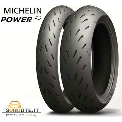 Coppia Pneumatici Michelin Pilot Power Rs 120/70 Zr 17 58W 190/50 Zr 17 73W