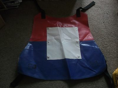 Vintage Generic Speedway Race Jacket Red White & Blue - Halifax Dukes?