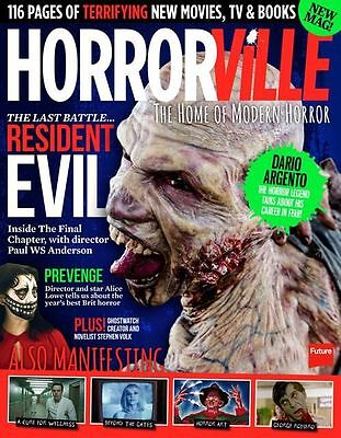 Horrorville Magazine issue 3 - The Home of Modern Horror