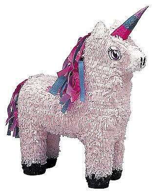 Pink Unicorn Pinata With Sweets And Small Party Favours Party Decoration Game