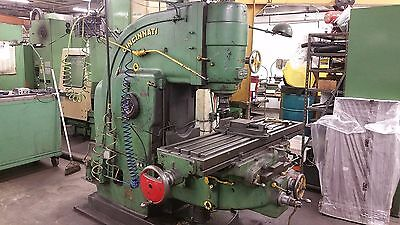 Cincinnati No. 3 Vertical Milling Machine NMTB 50 Spindle