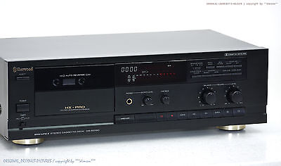SHERWOOD DS-5015C Cassette Tape Deck Top-Zustand! Revidiert+1j.Garantie!