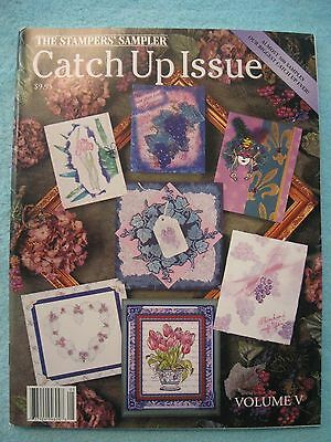 Vintage Stampers' Sampler Catch Up Issue; Stamping Samples 2001; 99 Pages