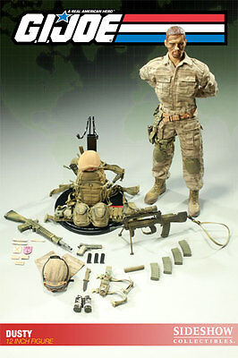 "Desert Trooper Code Name Dusty G.I. Joe Military Army 12"" Figur Sideshow"
