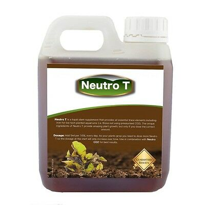Neutro T - Aquarium Plant Fertiliser for Planted Tanks Low Tech 1000ml Medium
