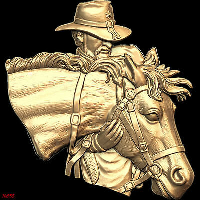 (555) STL Model Horse for CNC Router 3D Printer  Artcam Aspire Bas Relief