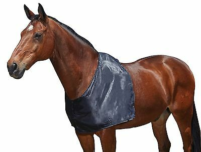 Weatherbeeta Satin Shoulder Guard - Full Size in Navy