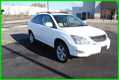 2007 Lexus RX RX-350 RX 350 AWD Premium Loaded White Very Clean Runs Great Serviced Must See
