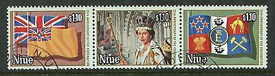 Niue: 1978 25th Anniv of Coronation set SG245-7 Fine Used AE350
