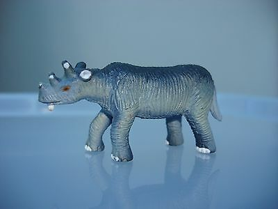 Playvisions Uintatherim Small Version Prehistoric Animal Figure Play Visions
