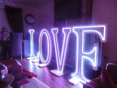 Giant 4ft LOVE Letters or MR & MRS