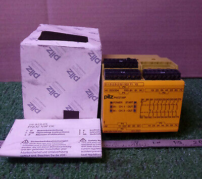 1 NEW PILZ PNOZ X9P 24VDC 7n/o 2n/c 2so SAFETY RELAY ***MAKE OFFER***
