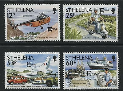 St Helena: 1996 CAPEX '96 Exhibition set of 4 stamps SG721-724 MNH - AG080