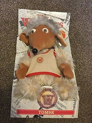 The Wombles Tomsk Boxed Vintage By Golden Bear