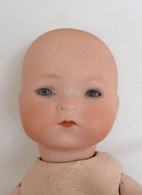 Antique A. M. Bisque Head Dream Baby 341/4/0 Doll