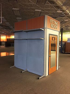 5' x 8' Modular Fitting Room Module Store Supply 2 Rooms