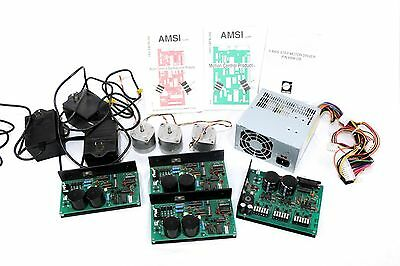 3 Axis CNC Motor Kit 3D CAD Molon Stepper Power Supply Controllers