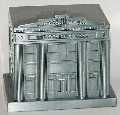 The Dominion Bank TD 150 Metal Coin Bank