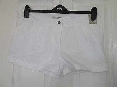 LADIES SHORTS by ATMOSPHERE in White Size 12
