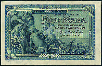 Germany 5 mark 1904, P-8b, XF