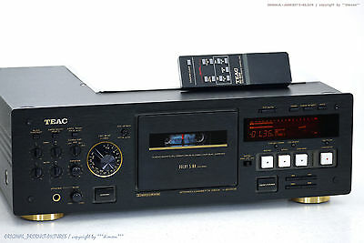 TEAC V-8030S High-End 3-Head Cassette Tape Deck + FB/BDA!! Gewartet+1J.Garantie!
