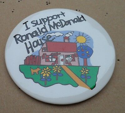 Button Anstecker Ronald McDonald House McDonalds