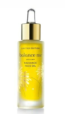 Balance Me Limited Edt Extra Care Radiance Face Oil 100% Natural 30Ml Free Post