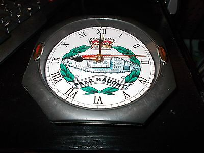The Royal Tank Regiment 130Mm Glass Front Wall Clock....