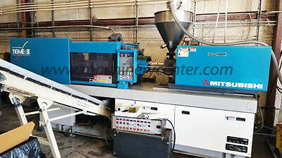 110 Ton, 3.5 Oz. Mitsubishi Electric Injection Molding Machine '05