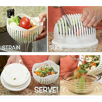 2017 Hot Sale salad cutter bowl make your salad in 60 second great salad tools