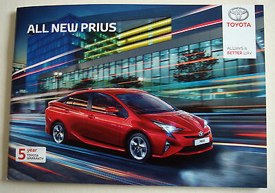 Toyota . Prius . All New Prius . May 2016 Sales Brochure