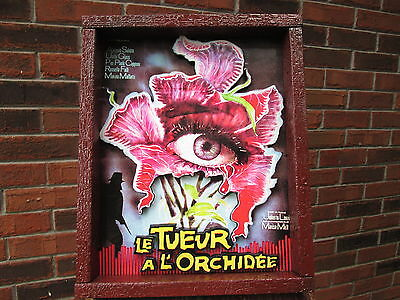 SEVEN BLOOD-STAINED ORCHIDS   Giallo   Cult   Horror Movie   Handmade Poster art