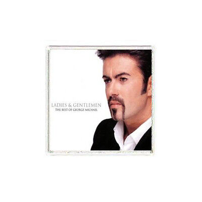 FRIDGE MAGNET COVER George Michael The Best of George Michael album cover