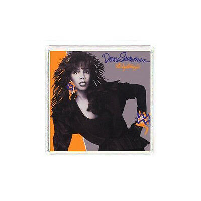FRIDGE MAGNET COVER Donna Summer All Systems Go album cover