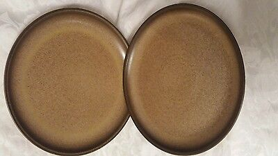 Denby Romany dinner plates 10 inch x 2