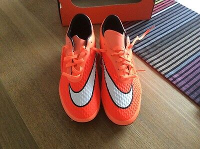 Nike Hypervenom Phelon Fg Men's/boy's Football Boots Size 6 Uk