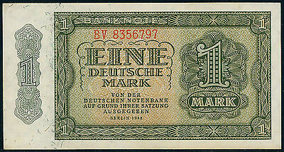 German Democratic Republic 1 deutsche mark 1948, P-9b, UNC