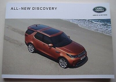 Land Rover . All-New Discovery . 2016  Sales Brochure.